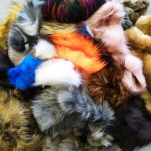 """""""Fake fur scraps"""""""