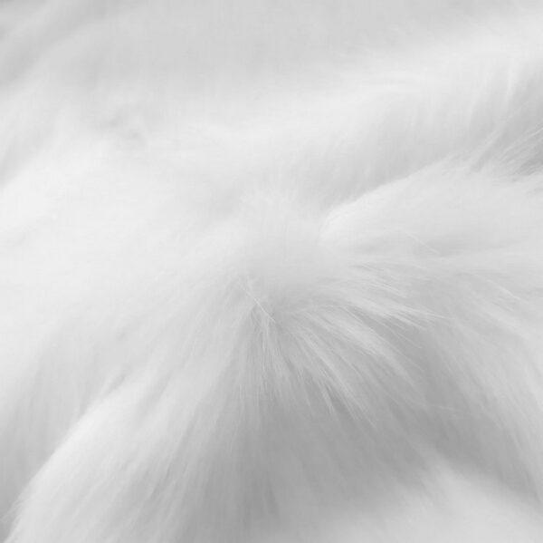 """""""White faux fur"""""""