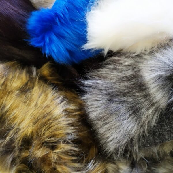 """""""Faux fur scraps"""""""